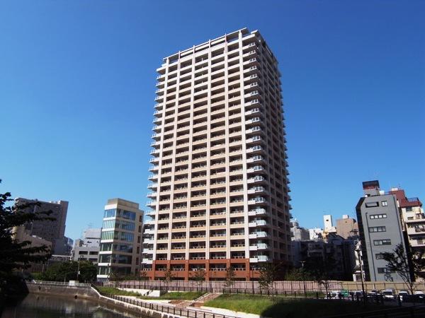 プラウドタワー東五反田の外観画像