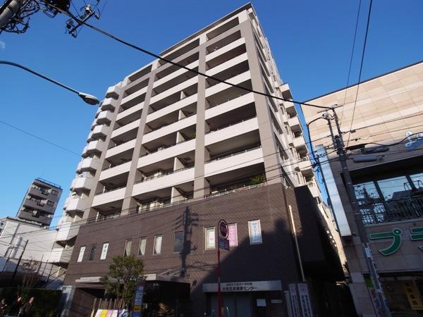 パークホームズ新宿若松町の外観画像