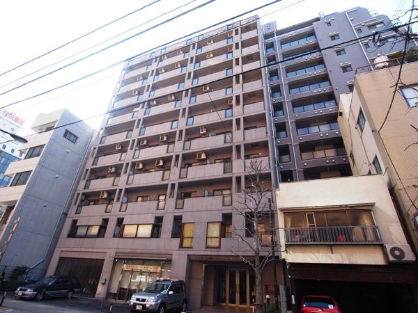 ライオンズマンション飯田橋駅前の外観画像