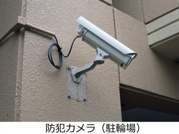 防犯カメラ(駐輪場) 2015年9月5日撮影