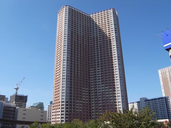芝浦アイランドケープタワーの外観