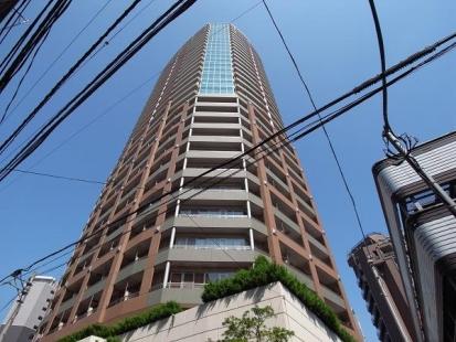 セントラルレジデンス新宿シティタワーの外観