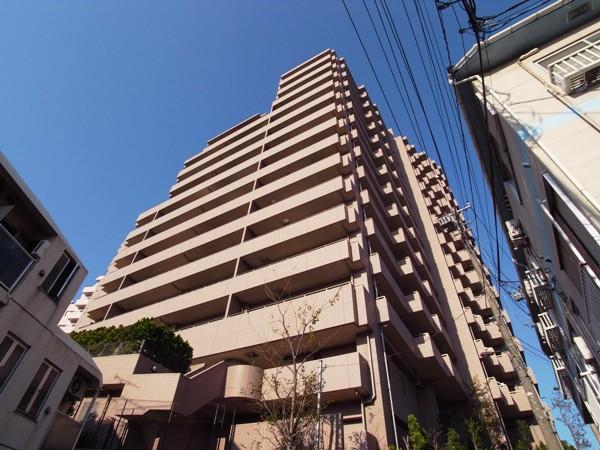 クリオレミントンハウス文京播磨坂の外観