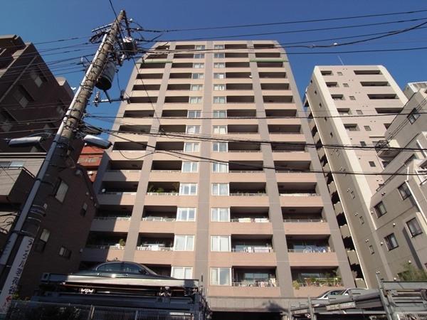 文京小日向シティタワーの外観