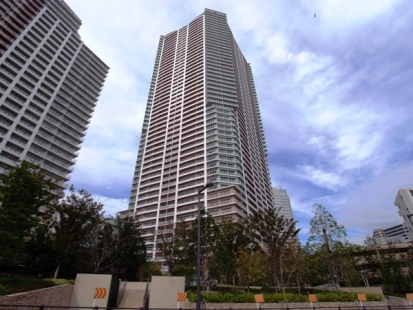 アーバンドックパークシティ豊洲タワーA棟の外観