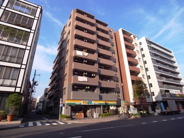 ライオンズマンション錦糸町北斎通りの外観