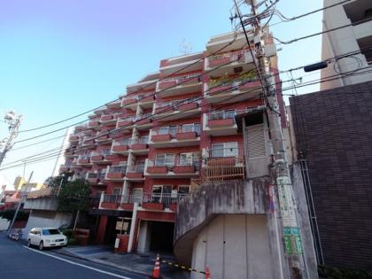 サンビューハイツ渋谷の外観