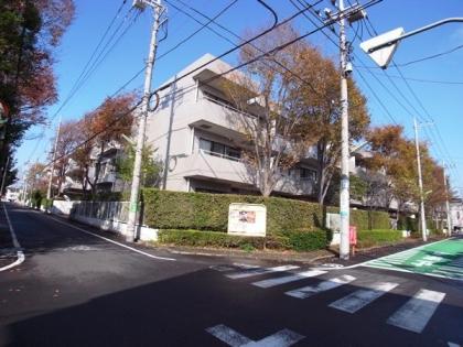 上野毛コートハウスB館の外観