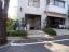 大岡山グリーンハイツのエントランス