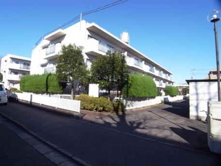 浜田山リッツハウスの外観