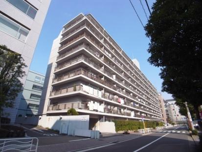 三井東陽ハイツの外観