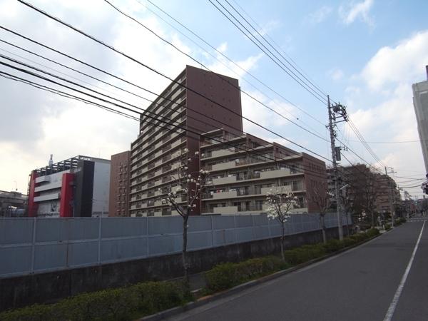 グローリオ志村ハウスの外観